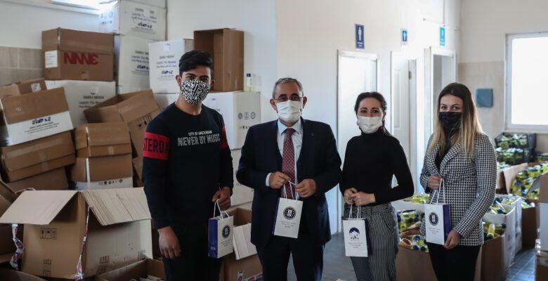 Kütahya Belediyesi 4 milyon maske üretti