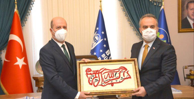 Başkan Bozkurt'tan Bursa Büyükşehir Belediye Başkanına Ziyaret