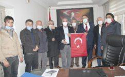 Başkan Türkmen'e nezaket ziyareti