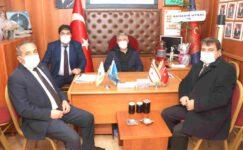 Başkanlardan Muharip Gaziler Derneğine hayırlı olsun ziyareti