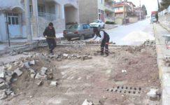 Emirdağ Belediyesi çalışıyor, mahalleler değişiyor