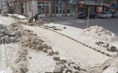 Emirdağ'da Butik Sokak Çalışmaları