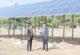 Güneş enerji pompa sistemi kurularak köyün kullanımına sunuldu