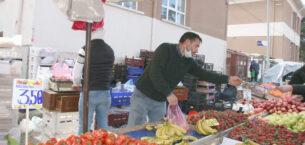 İl Salgın Denetim ekipleri pazar yerlerinde tedbiri elden bırakmadı