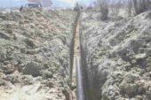 İstasyon Mahallesi balıklı mevkiinde kanalizasyon çalışmaları başladı