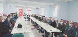 Şuhut'ta 'İdare Şube Başkanları' toplantısı