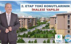 2.Etap TOKİ konutları ilçenin çehresini değiştirecek