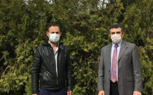 """Altıntaş'taki üreticilere """"Yağlık ayçiçeği tohumu"""" dağıtıldı"""