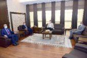 Aral Teknik Kolejinden Rektör Karakaş'a ziyaret
