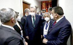 Başkan Zeybek Cumhurbaşkanı Recep Tayyip Erdoğan ile bir araya geldi