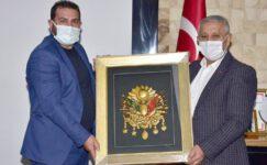 TDP İl Başkanı Uysal'dan Başkan Zeybek'e ziyaret