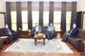 İş İnsanı Turan'dan Rektör Karakaş'a ziyaret