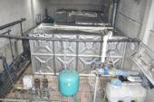 İscehisar'da jeotermal kaplıca tesisinde eskiyen su depoları değiştirildi