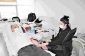 Kütahya Orman Bölge Müdürlüğü personelinden Kızılay'a kan bağışı