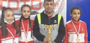 Takım halinde de Taşoluk Belediyesi kulübü şampiyon oldu