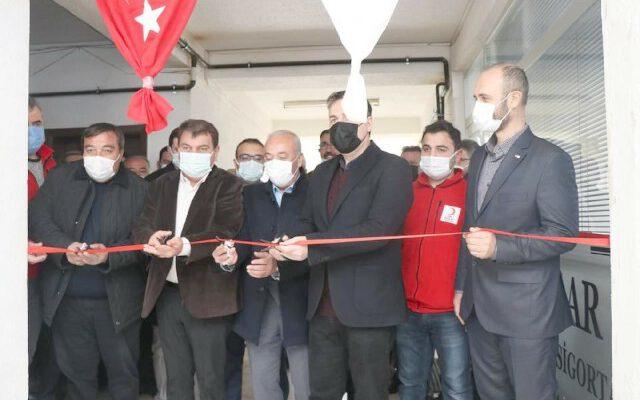Türk Kızılay Dinar Şubesi ilçede tekrardan açıldı