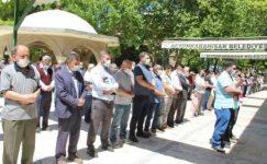 Filistin'de şehit olan vatandaşlar için  gıyabi cenaze namazı kılındı