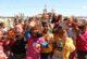 Çadır kentte çocukların bayram sevinci