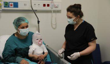 şükürler olsun! Beril bebek iyileşmeye başladı