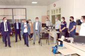 Zeybek Belediye personeli ile bayramlaştı
