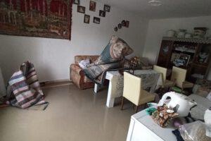 Afyonkarahisar'da 20 ev ve 10 ahırı sel bastı