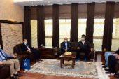 Avrupa 3.'sü SBF Öğrencisi Bozkurt'tan Rektör Karakaş'a Ziyaret