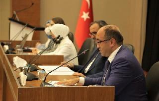 Başkan Mustafa Çöl 4. Cengiz Aytmatov Forumu'nda ülkemizi temsil etti
