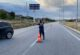 Bolvadin'de jandarma trafik denetimi yaptı