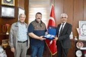 Çiftlikköy İtfaiye Müdürü Murat Erdoğan'dan, İscehisar Belediyesine Ziyaret