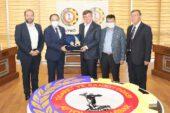 Gelecek Partisi Genel Başkanı Davutoğlu, Atso'yu ziyaret etti