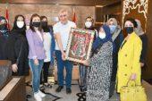 İscehisar'lı Kadınlardan, Necmettin Ayyıldız'a Teşekkür Ziyareti