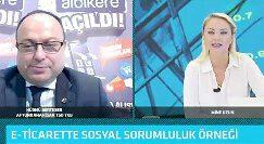 SERTESER, ALBİKERE.COM'U TV100'DE ANLATTI