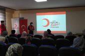 Kızılay'dan Şuhut Kadın Kültür Evinde İlk Yardım Sunumu