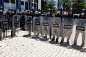 seçim yapılan okulda kavga çıktı