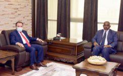 Prof. Dr. Ahmed'den Rektör Karakaş'a ziyaret