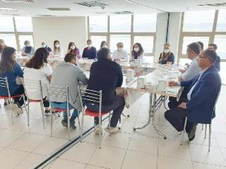 Şuhut Devlet Hastanesi'nde değerlendirme toplantısı