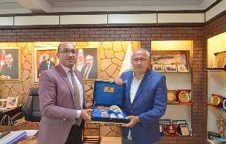 Tavşanlı Belediye Başkanı Güler'den Başkan Çöl'e Ziyaret