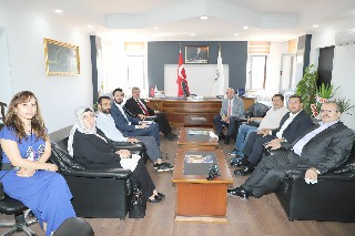 AK Parti heyetinden Baro'ya ve Başsavcı'ya ziyaret