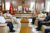 Albay Kırgel'den, Başkan Şahin'e Nezaket Ziyareti