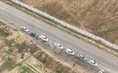 Jandarma havadan trafik denetimi yaptı