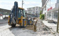 İscehisar'da doğalgaz çalışmalarına devam