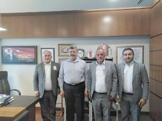 Karaman, Karabacak ve Aydın Ankara'da ziyaretlerde bulundular
