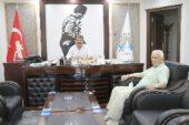 Lozan Sarıoğlu'ndan Başkan Sarı'ya teşekkür ziyareti