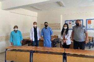 Fedakar öğretmenler öğrencileri için kolları sıvadı