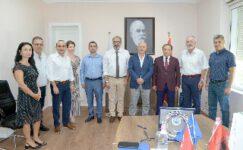 Rektör Karakaş'tan Tiran Tarım Üniversitesine Ziyaret