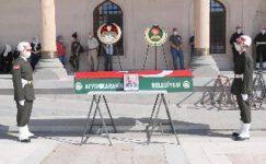 Vefat eden başçavuş askeri törenle sonsuzluğa uğurlandı