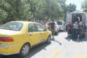Yeşilyol'da zincirleme kaza, 4 araç birbirine girdi!