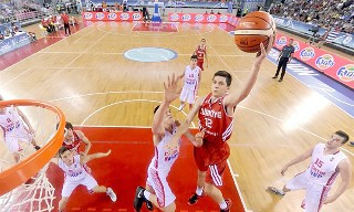 Afyon Basket'e Galatasaraylı genç uzun!..
