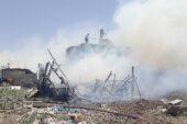 Afyonkarahisar'da besihane yangını