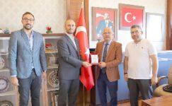 Kızılay Afyon Şubesi'nden Başkan Çoban'a Ziyaret